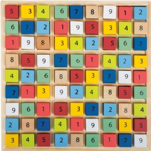 "Colourful Sudoku ""Educate"""